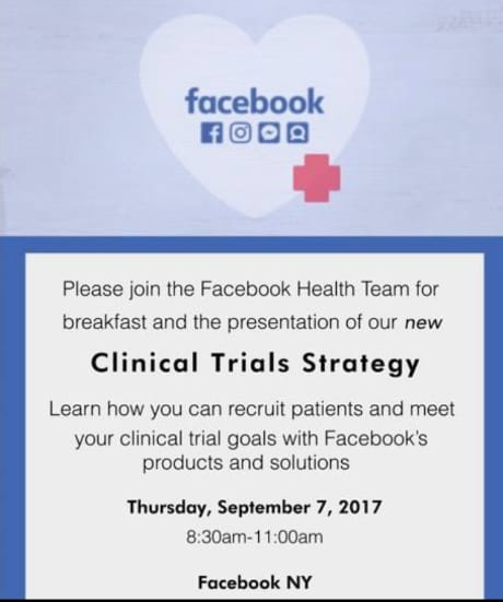 facebook clinical trial LEVY 170907