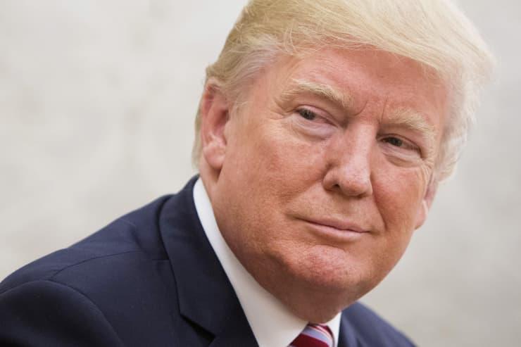 GP: Donald Trump smiles 170907