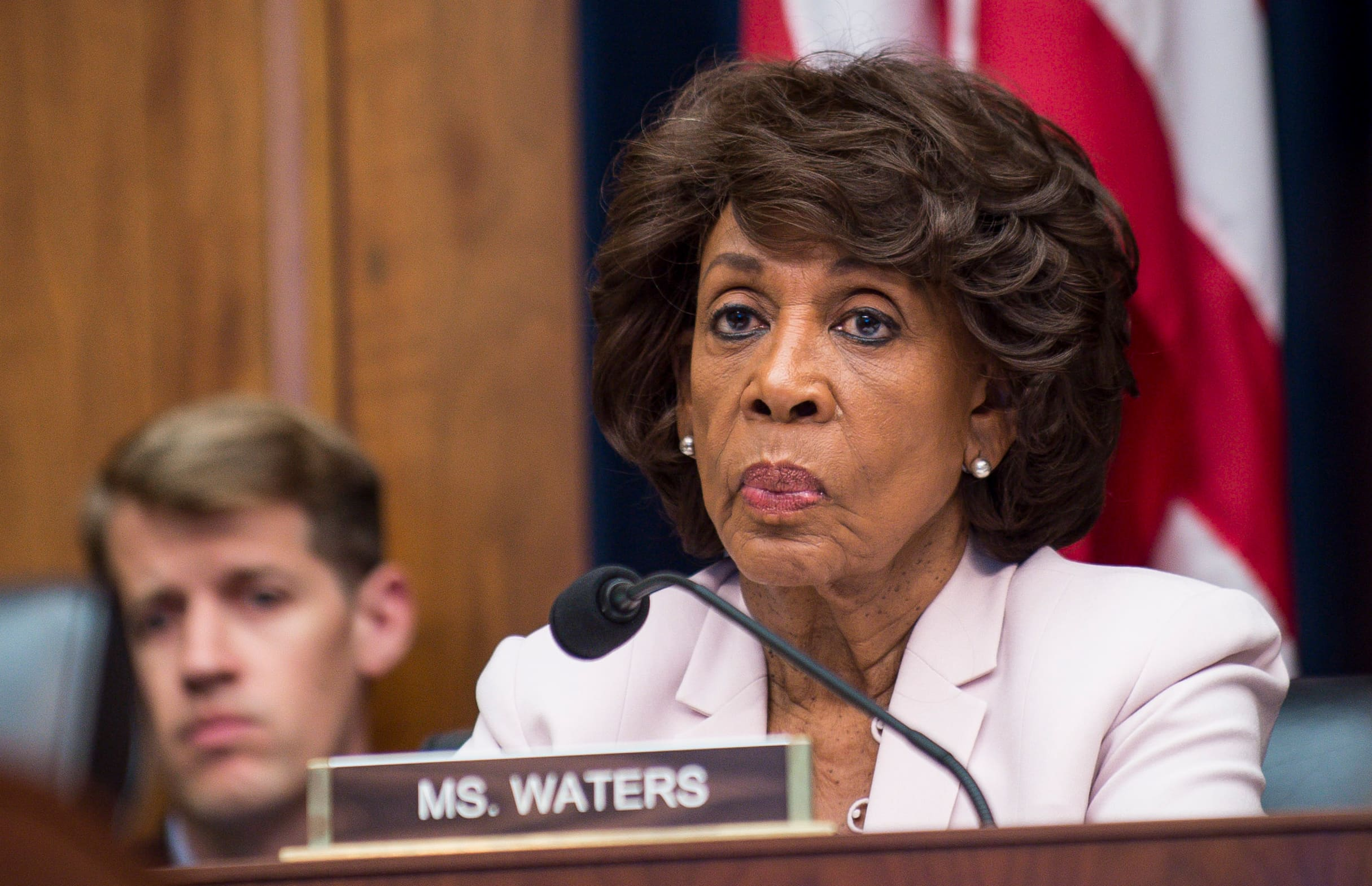 Rep. Maxine Waters asks Facebook to pause work on cryptocurrency Libra