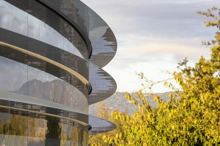 ONE TIME USE Handout: Apple Park building trees