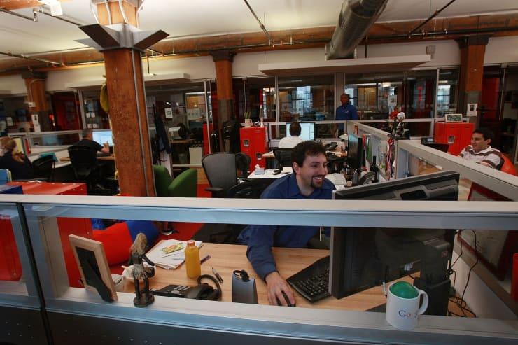 SUBS: google employee at computer