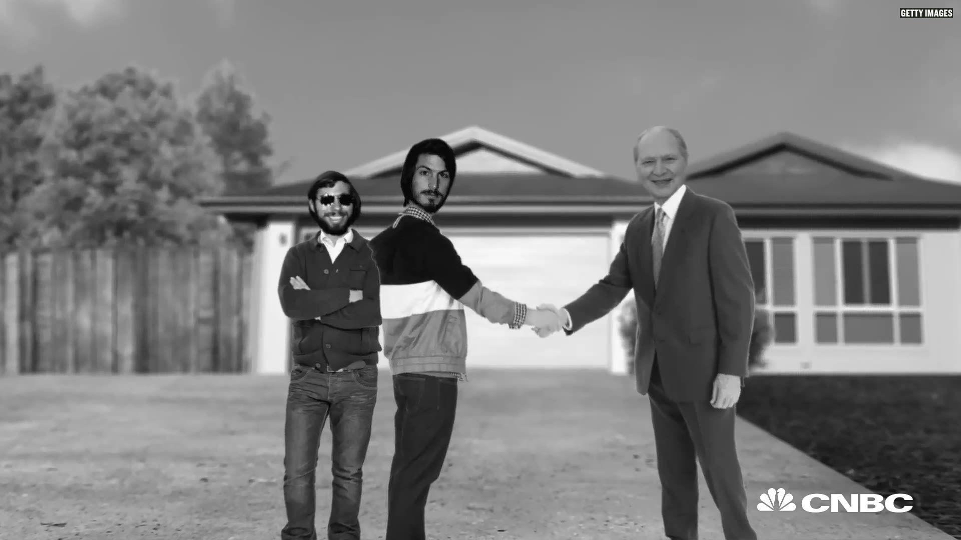 Apple's third co-founder Ronald Wayne sold his stake for $800