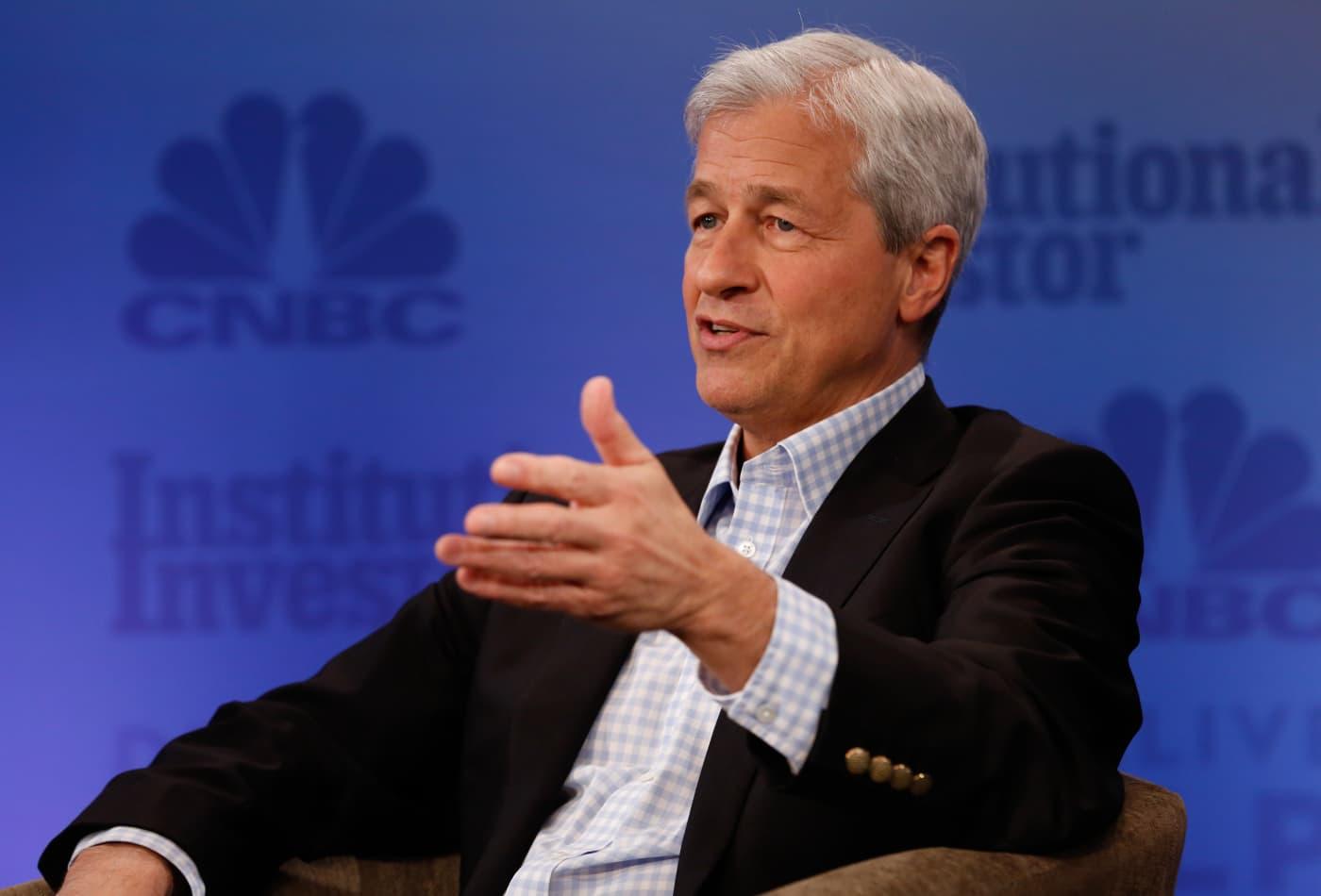JPMorgan CEO Jamie Dimon prioritizes his job 'literally last'