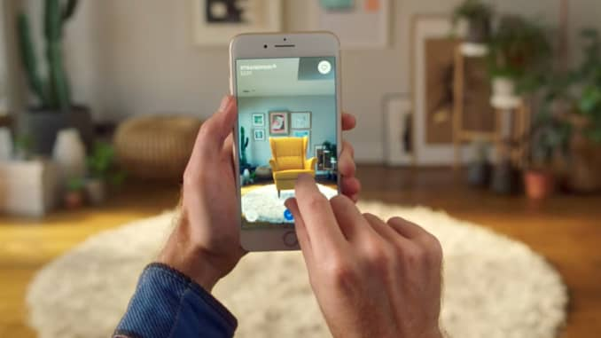 Magnificent Ikea And Apple Team Up On Augmented Reality Home Design App Home Interior And Landscaping Transignezvosmurscom