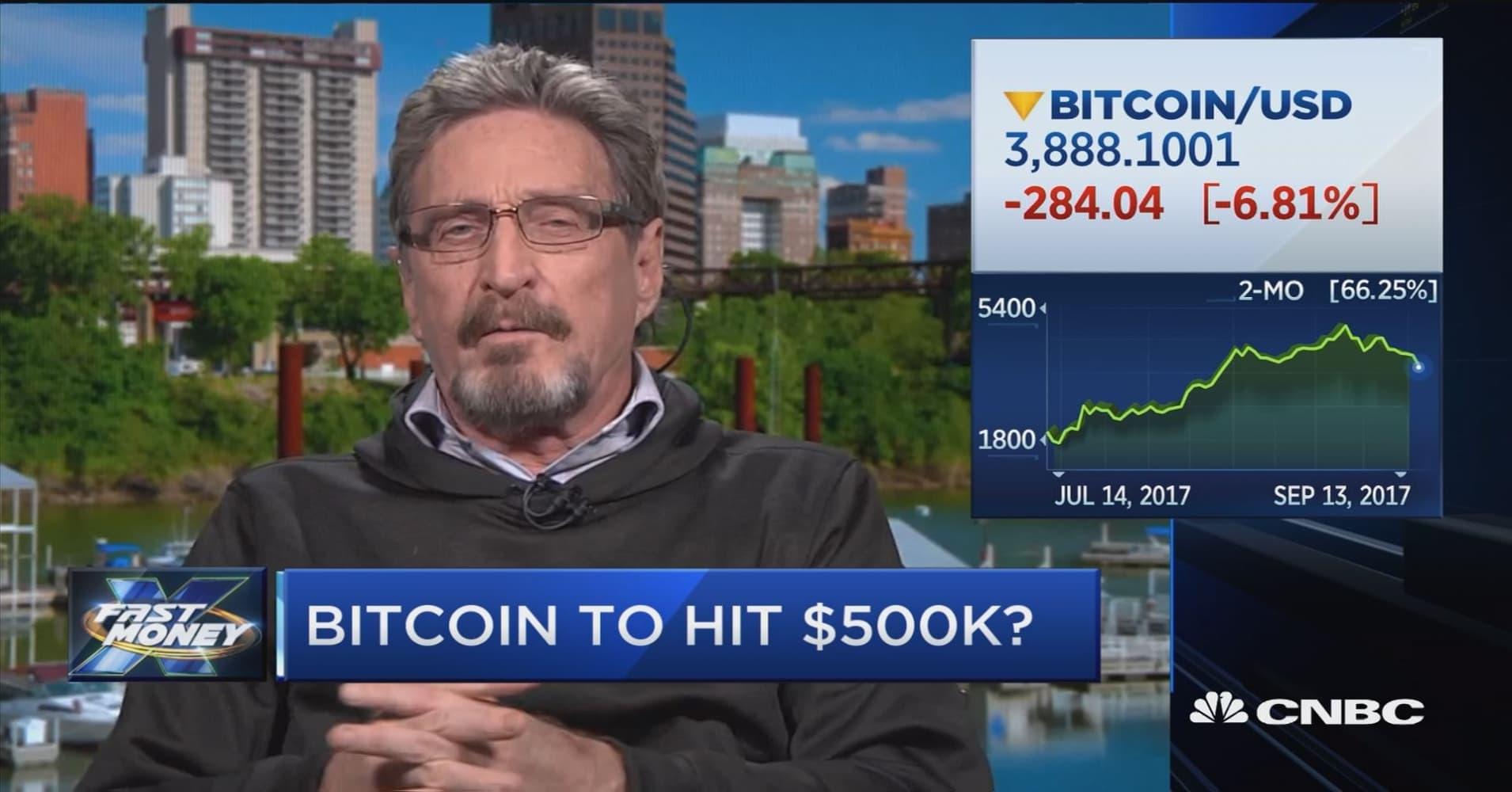 bitcoin john mcafee)