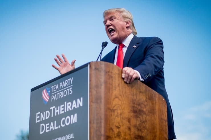 Premium: Donald Trump speaking Iran Deal 150909