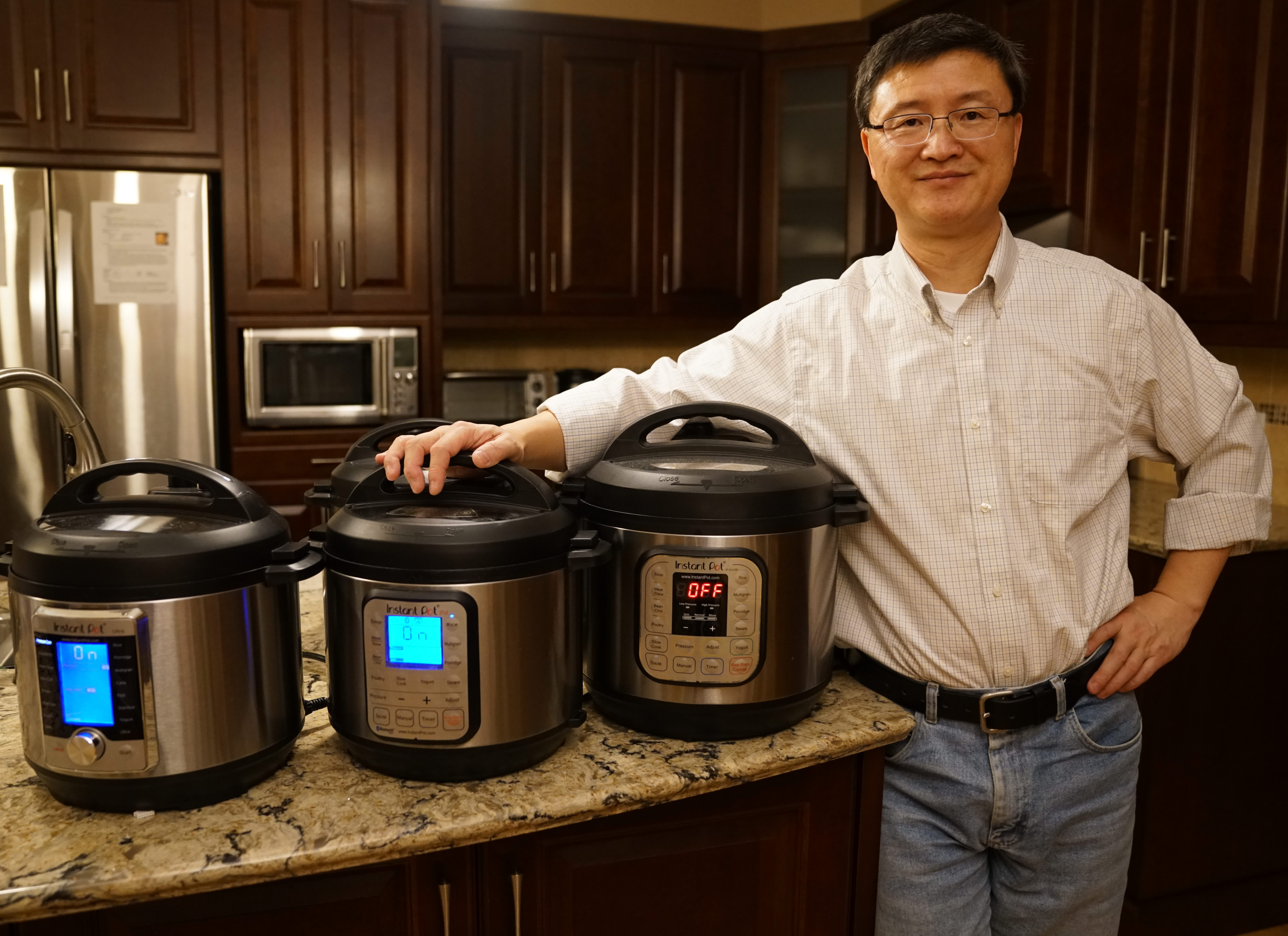 Why Robert Wang's Instant Pot is a bestseller on Amazon