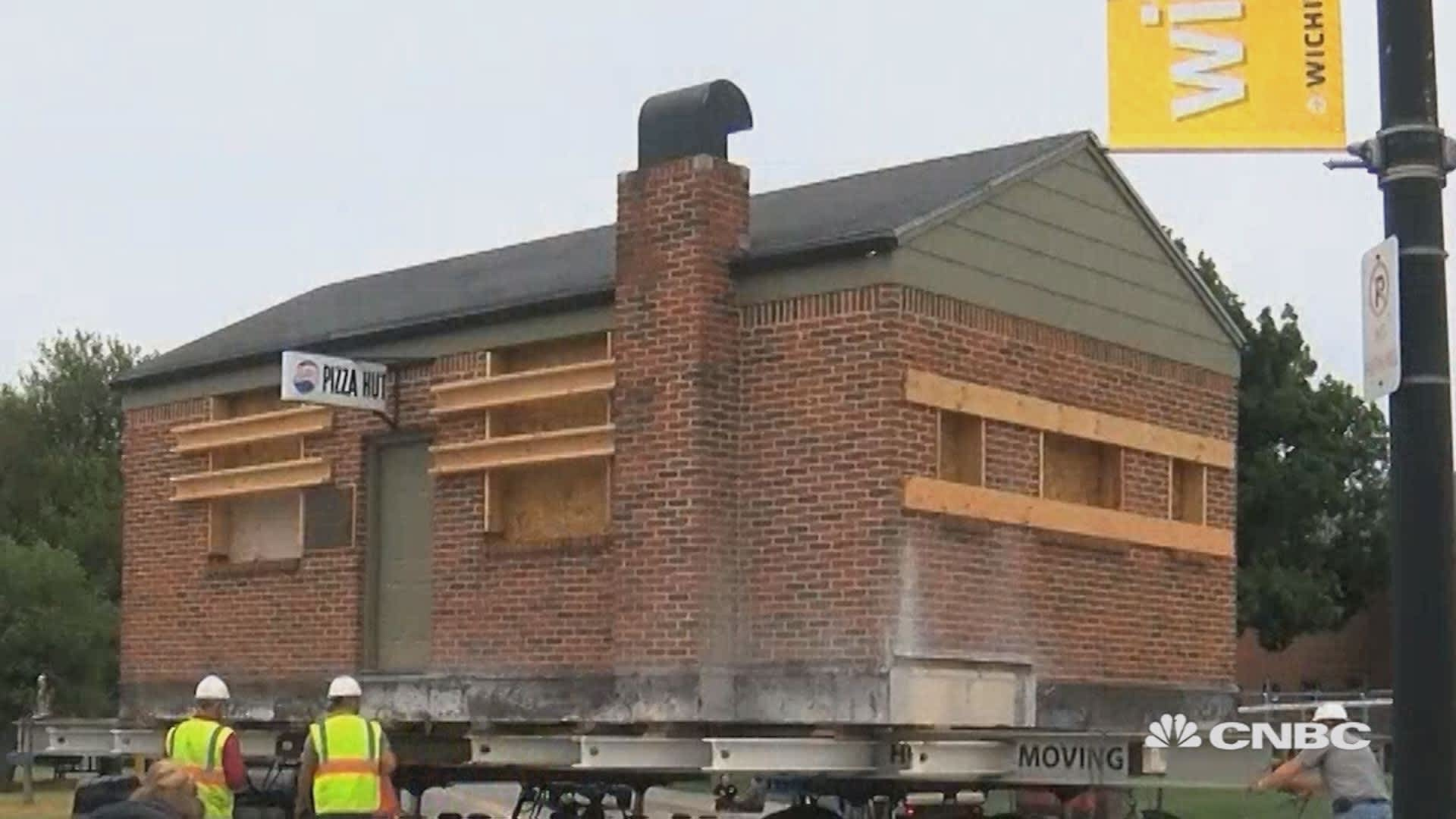The Original Pizza Hut Building Is Moving