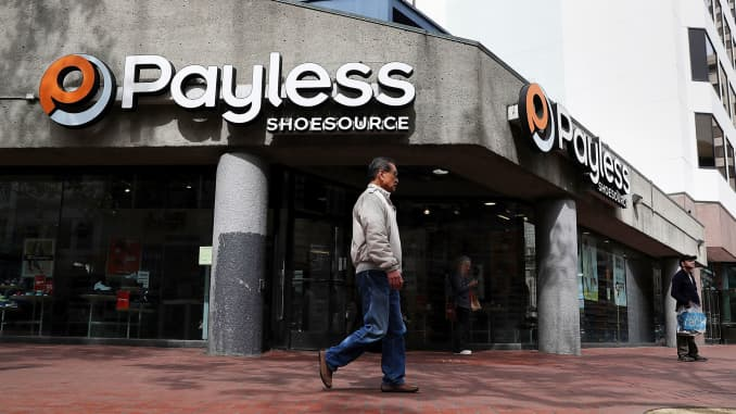 GS: Payless Shoesource store 170504