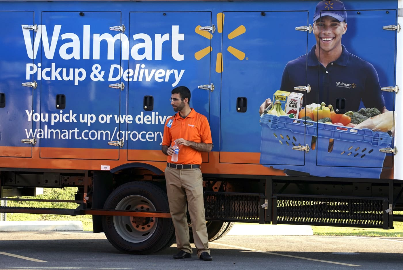 RT: Walmart grocery delivery
