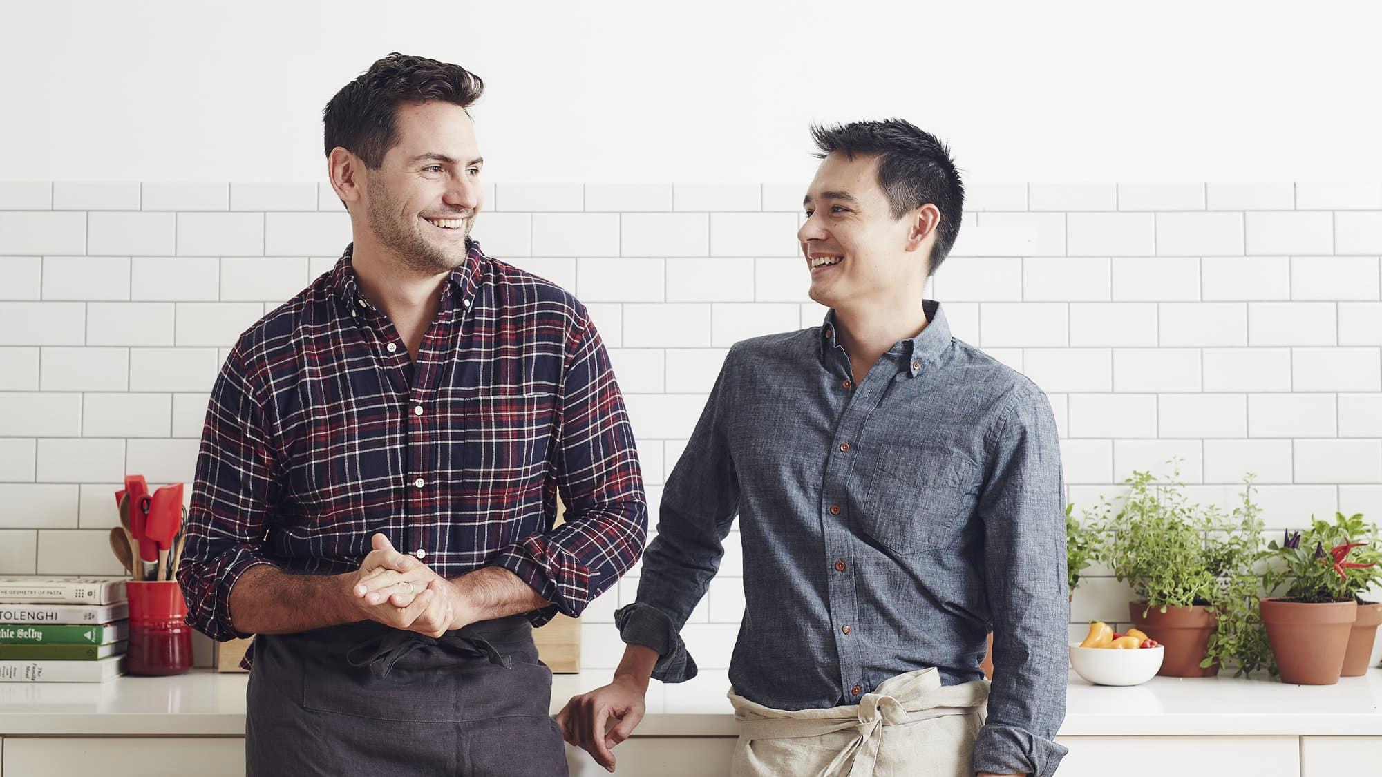 Plated cofounders Nick Taranto and Josh Hix (L to R).