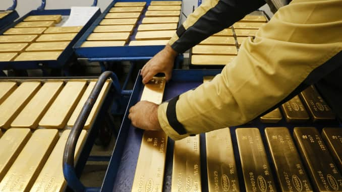 RT: Gold ingots Russia 170922