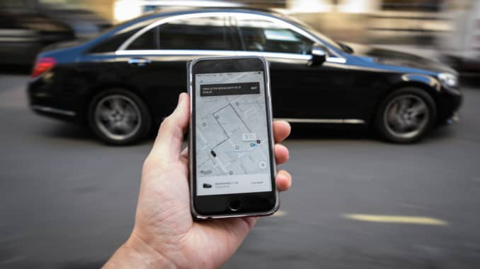 What to do if you leave something in an Uber