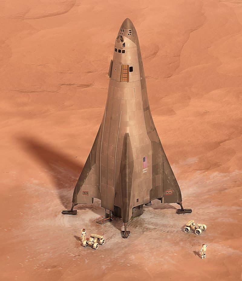 Handout: Lockheed Martin Mars Lander