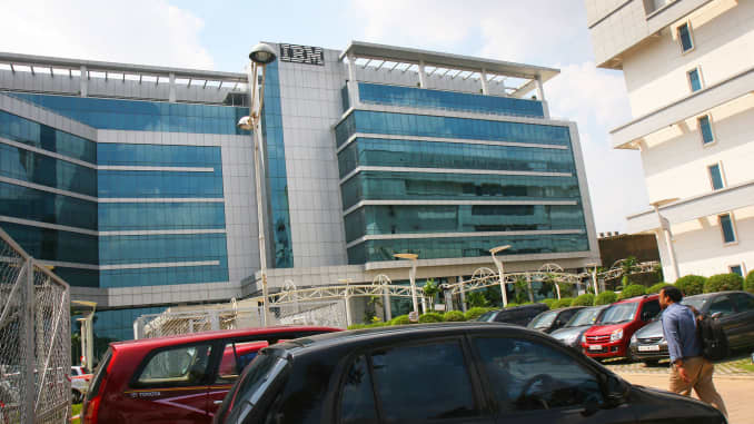 IBM U S  employees outnumbered by Indian employees
