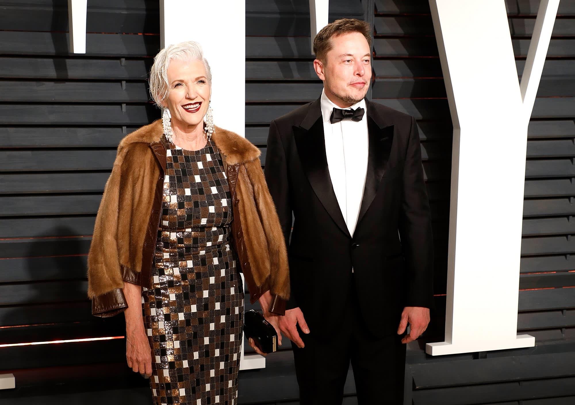 How Elon Musk's mother Maye raised a family of entrepreneurs