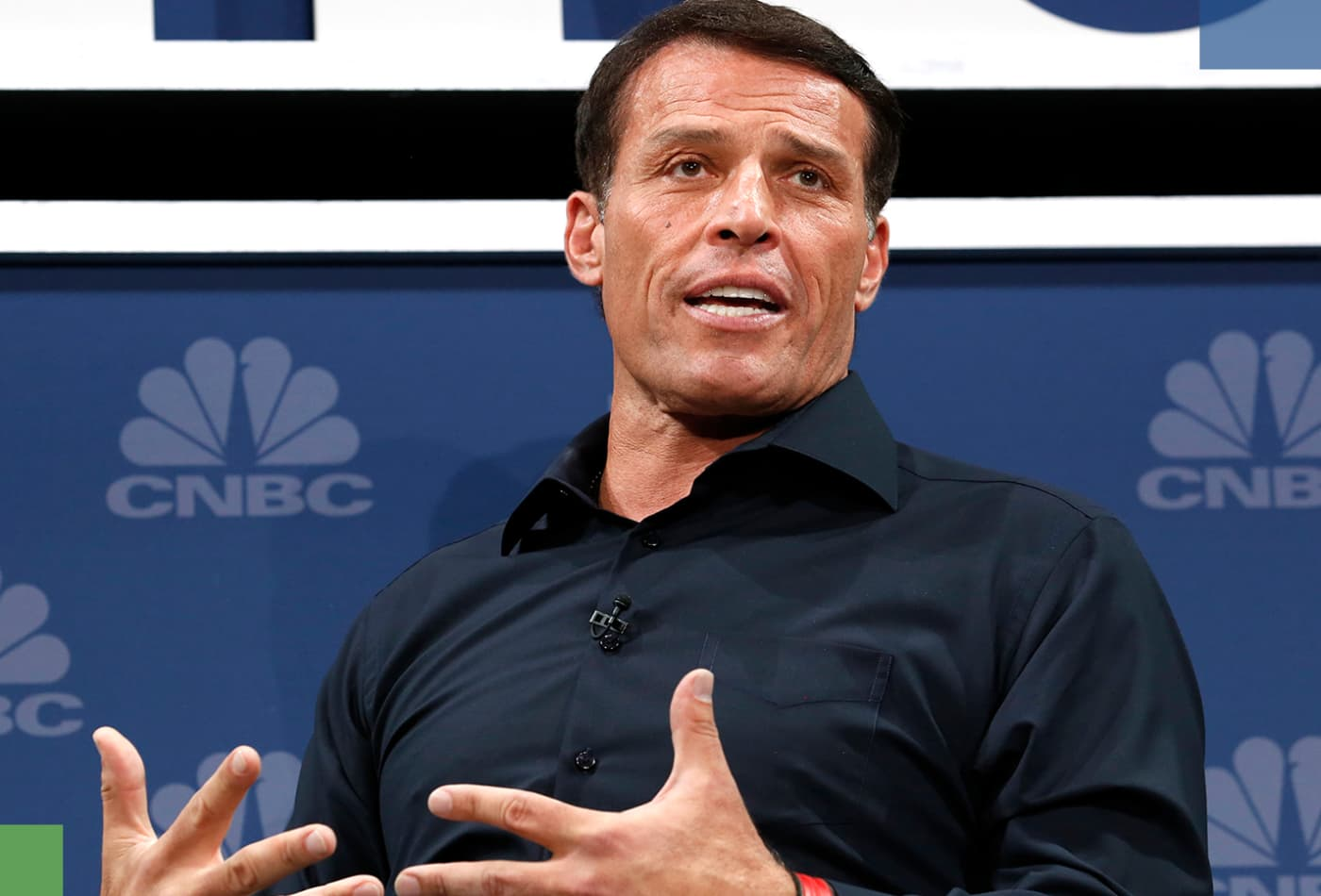 Tony Robbins: This is the secret to happiness in one word