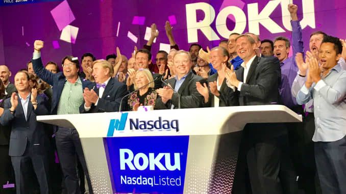 Roku stock rises on Apple deal