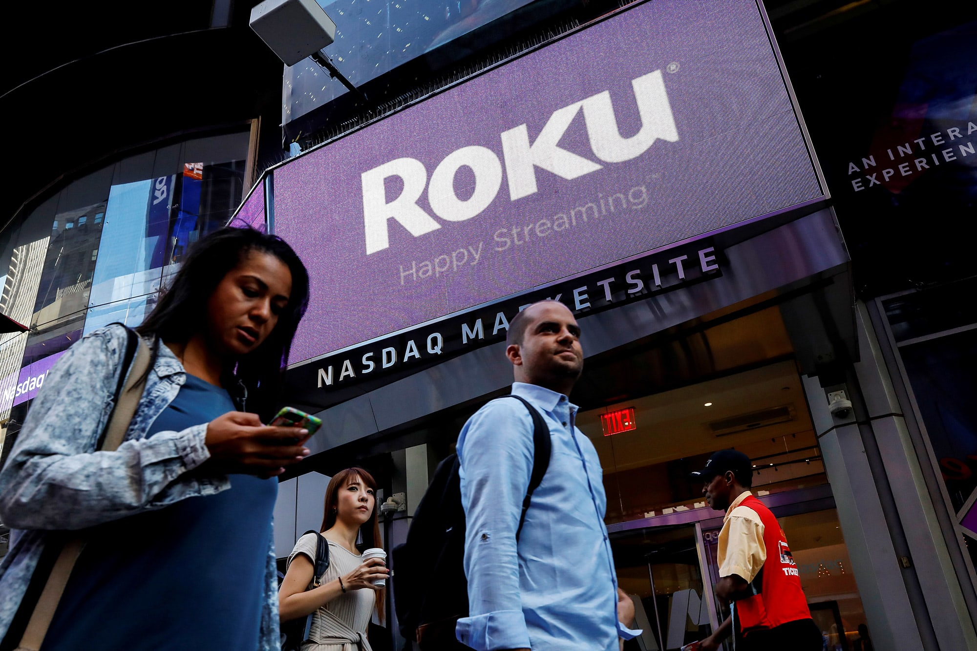 Roku stock falls after CFO steps down