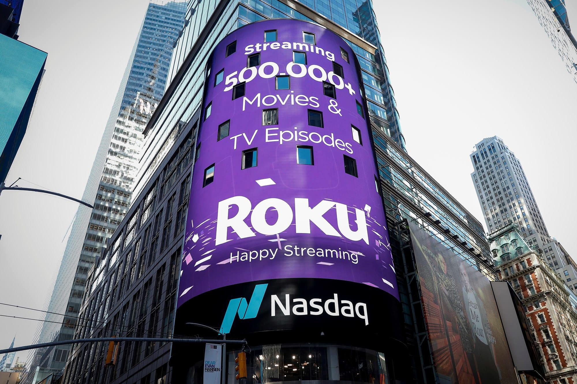 Roku shares tank 14% despite revenue beat for the third quarter