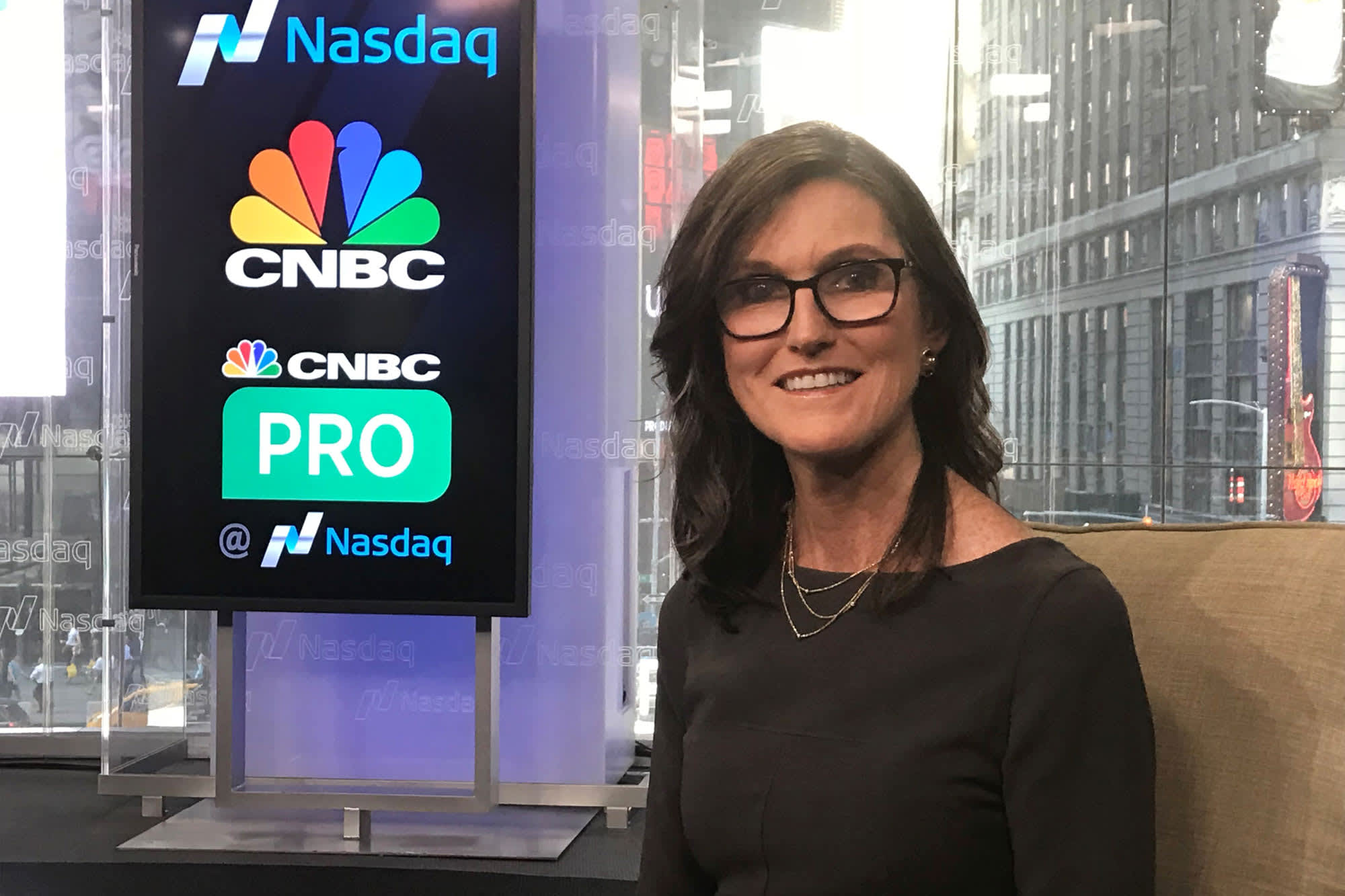Cathie Wood says the underlying bull market is strengthening and she's finding great buying opportunities in the sell-off