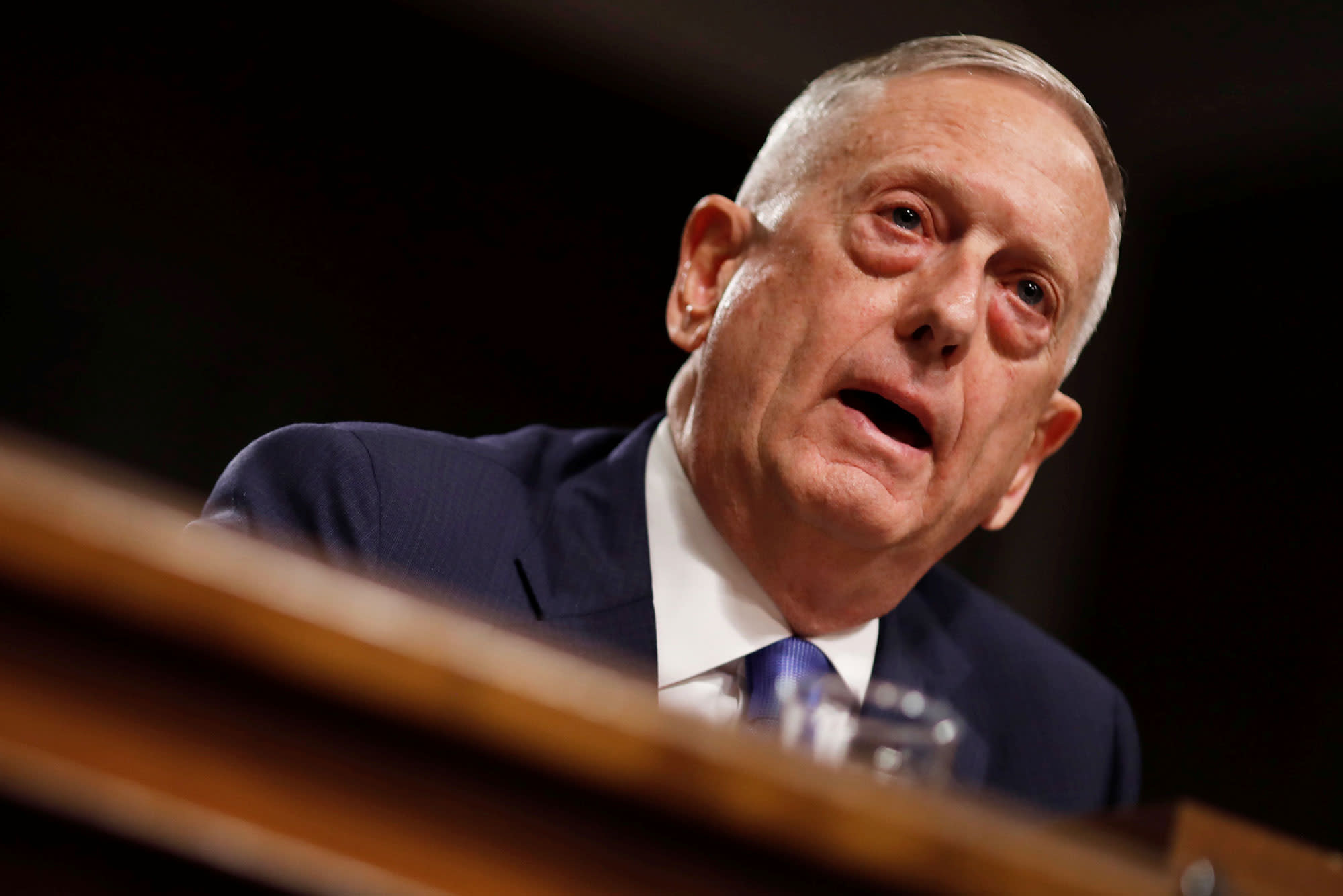 Jim Mattis once pulled Christmas duty for a young Marine—and it's the perfect holiday story