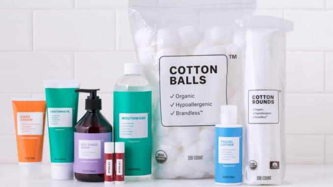 E-commerce start-up Brandless is testing the beauty market