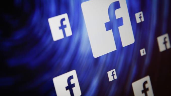 premium: facebook logo swirl