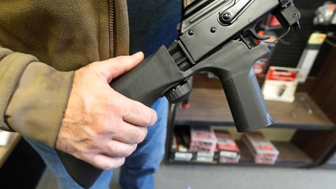 Trump administration's bump stock ban set to go into effect