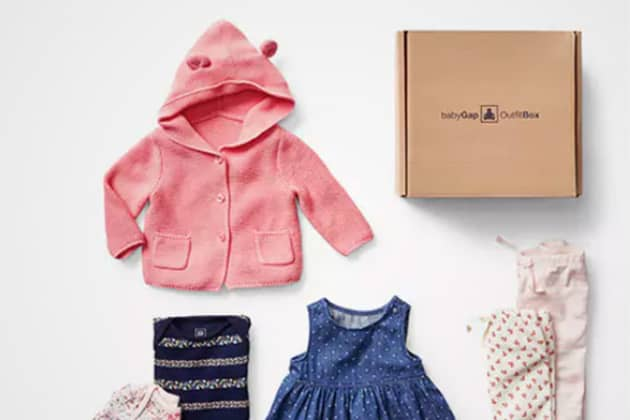 bba36352e05e Gap is selling subscription boxes for baby clothes