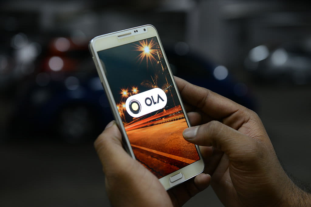 Indian taxi firm Ola signs up 10,000 drivers as it looks to take on Uber with London launch