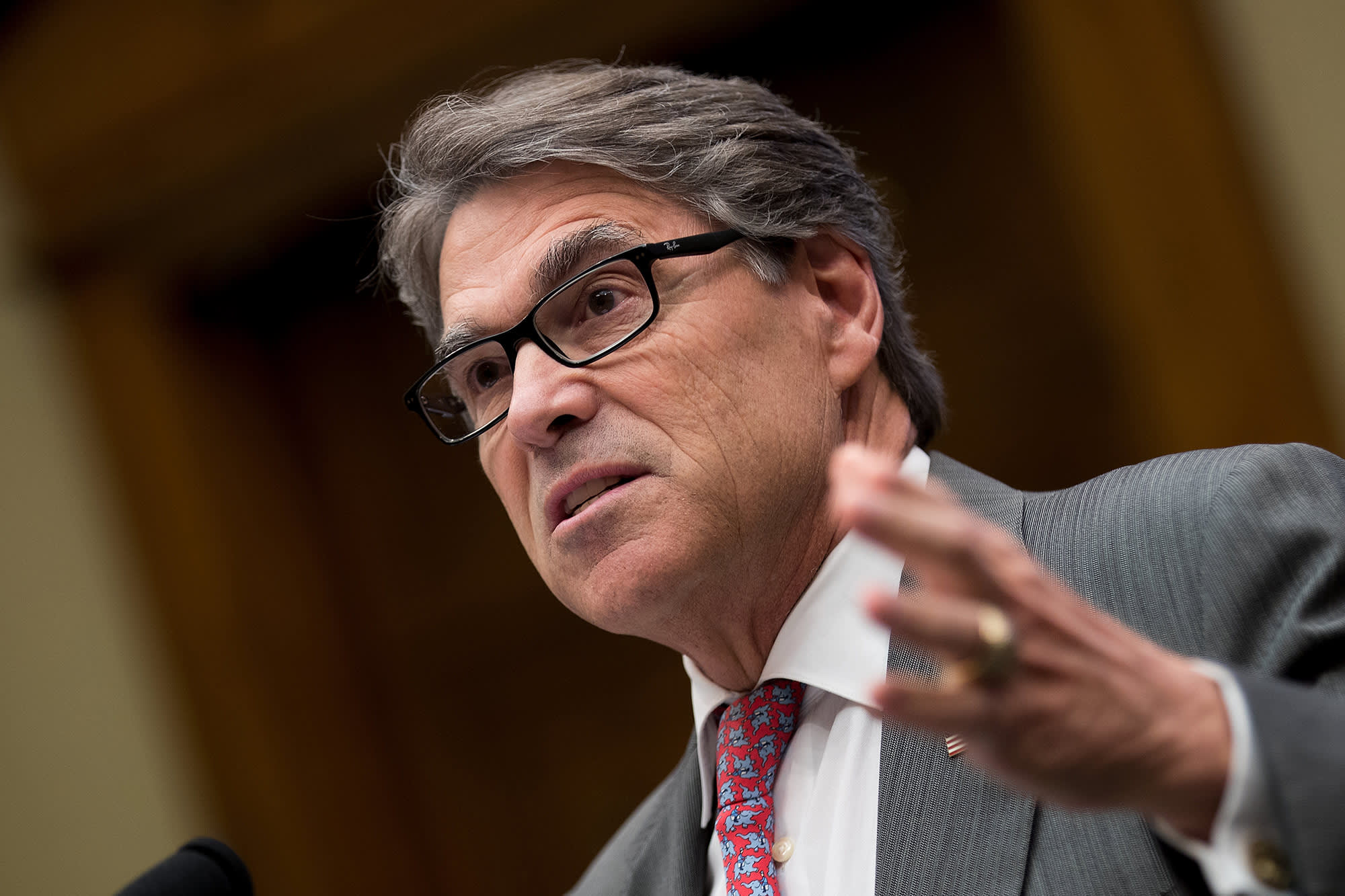 Energy Secretary Perry expects a 'coalition effort' to put a stop to Iran's 'malign activity'