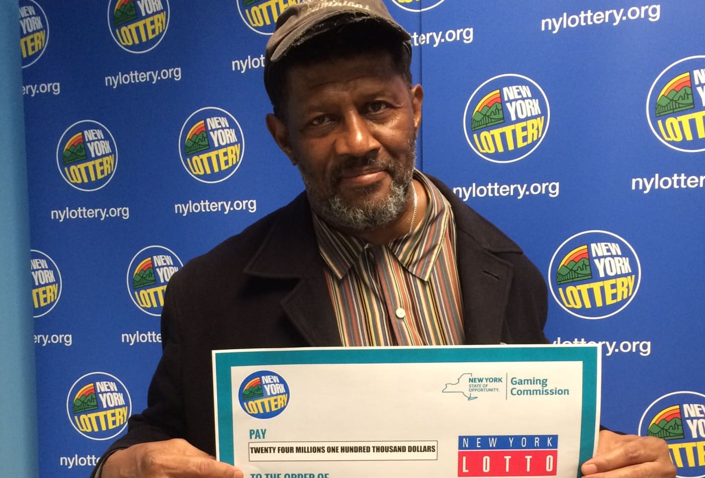 Grandfather finds a $24 million lottery ticket in an old shirt