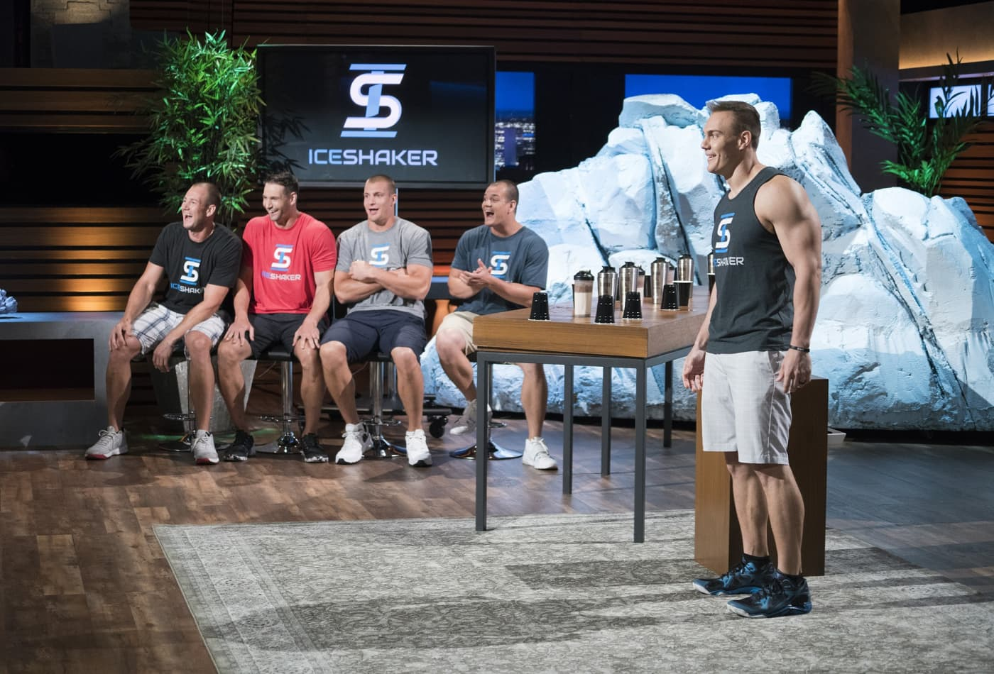 Shark Tank Judges Were Fighting Over Chris Gronkowski S Ice