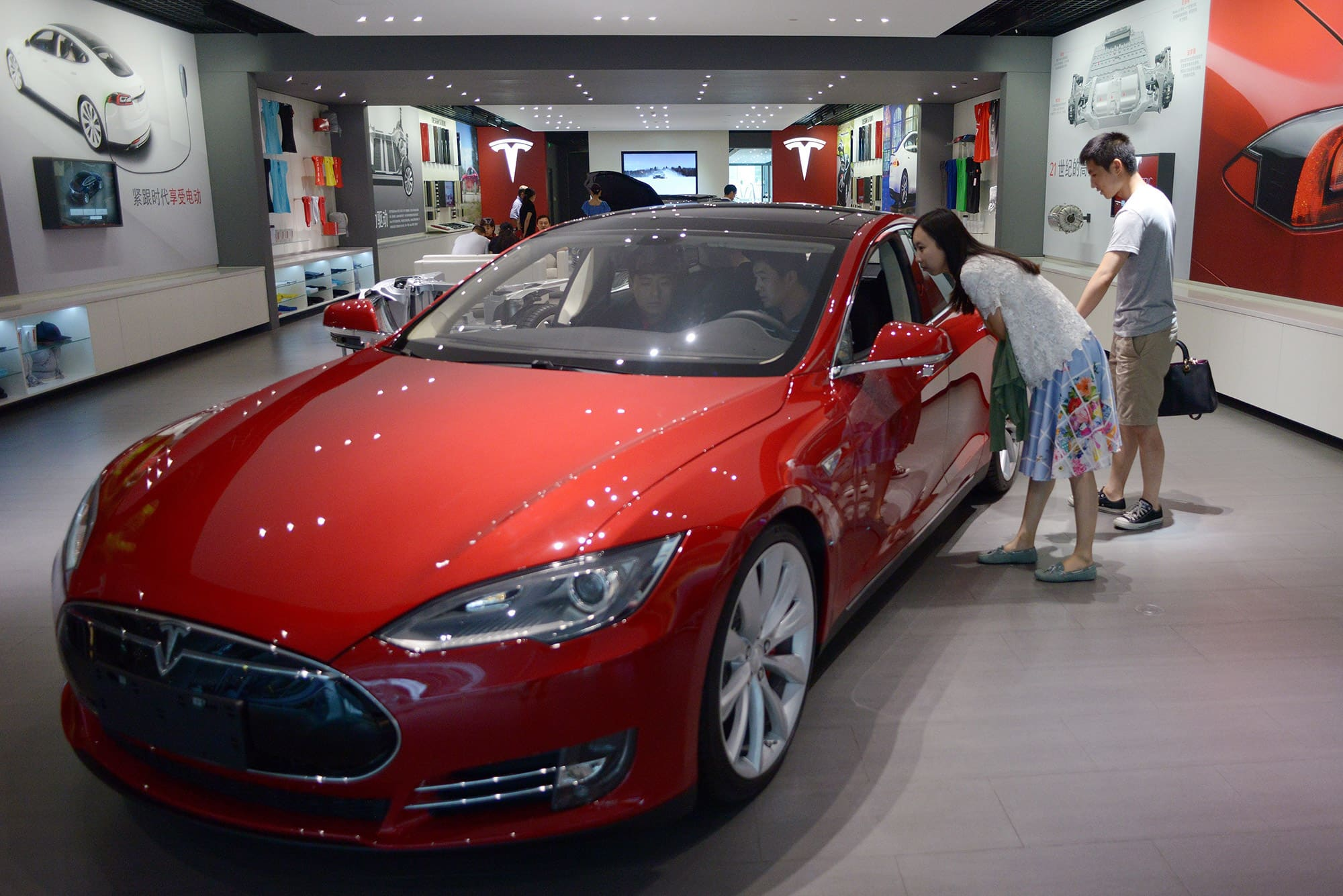 A look at auto insurance registration data in China may show Tesla sales surging