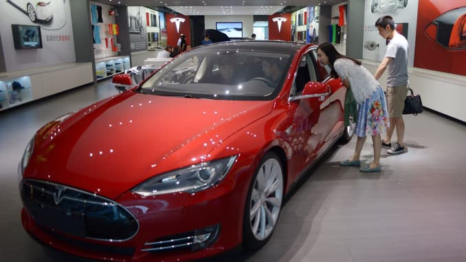 GP: Tesla China showroom Beijing 140709