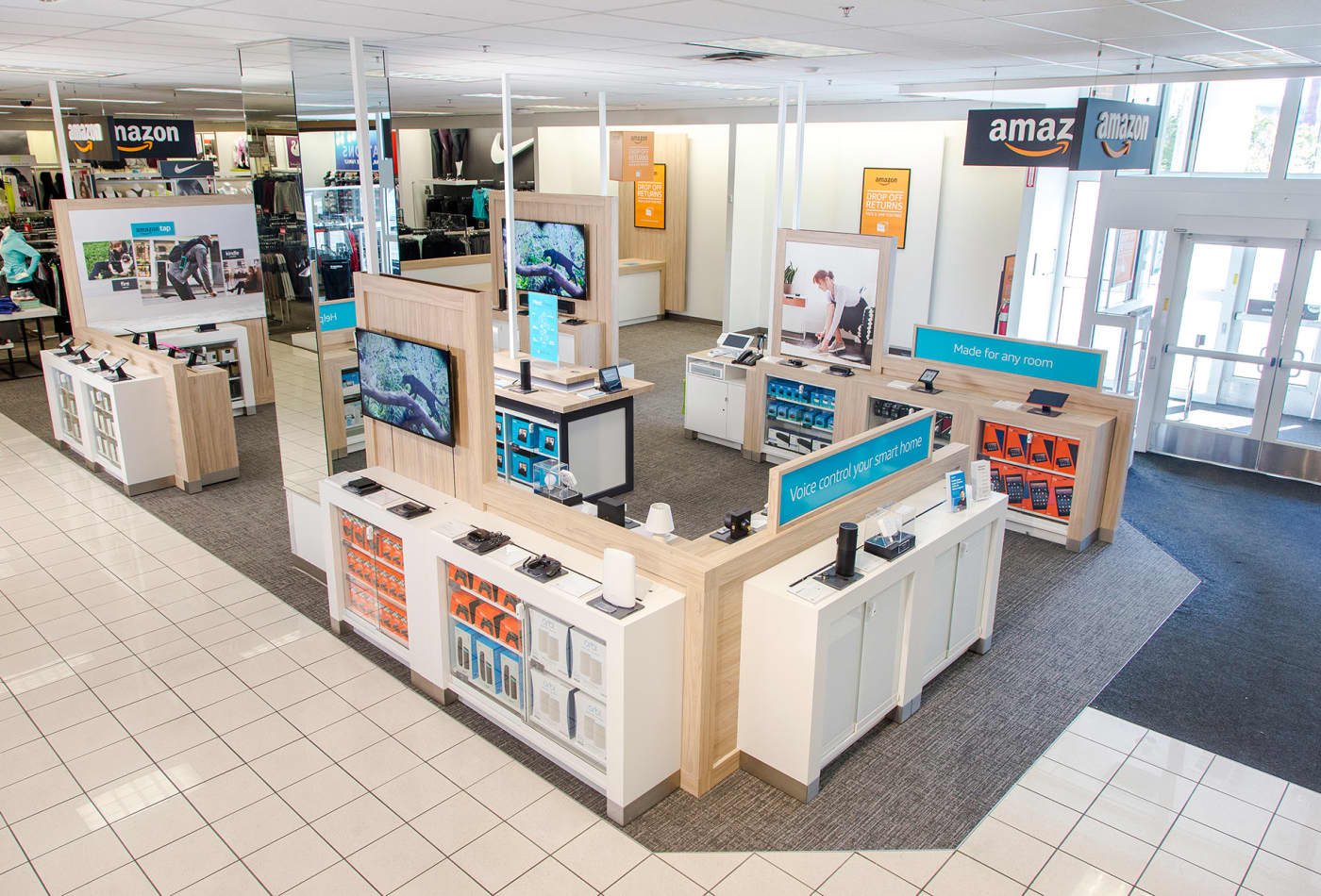 Kohl's is going to accept Amazon returns in all of its stores across the country, starting in July