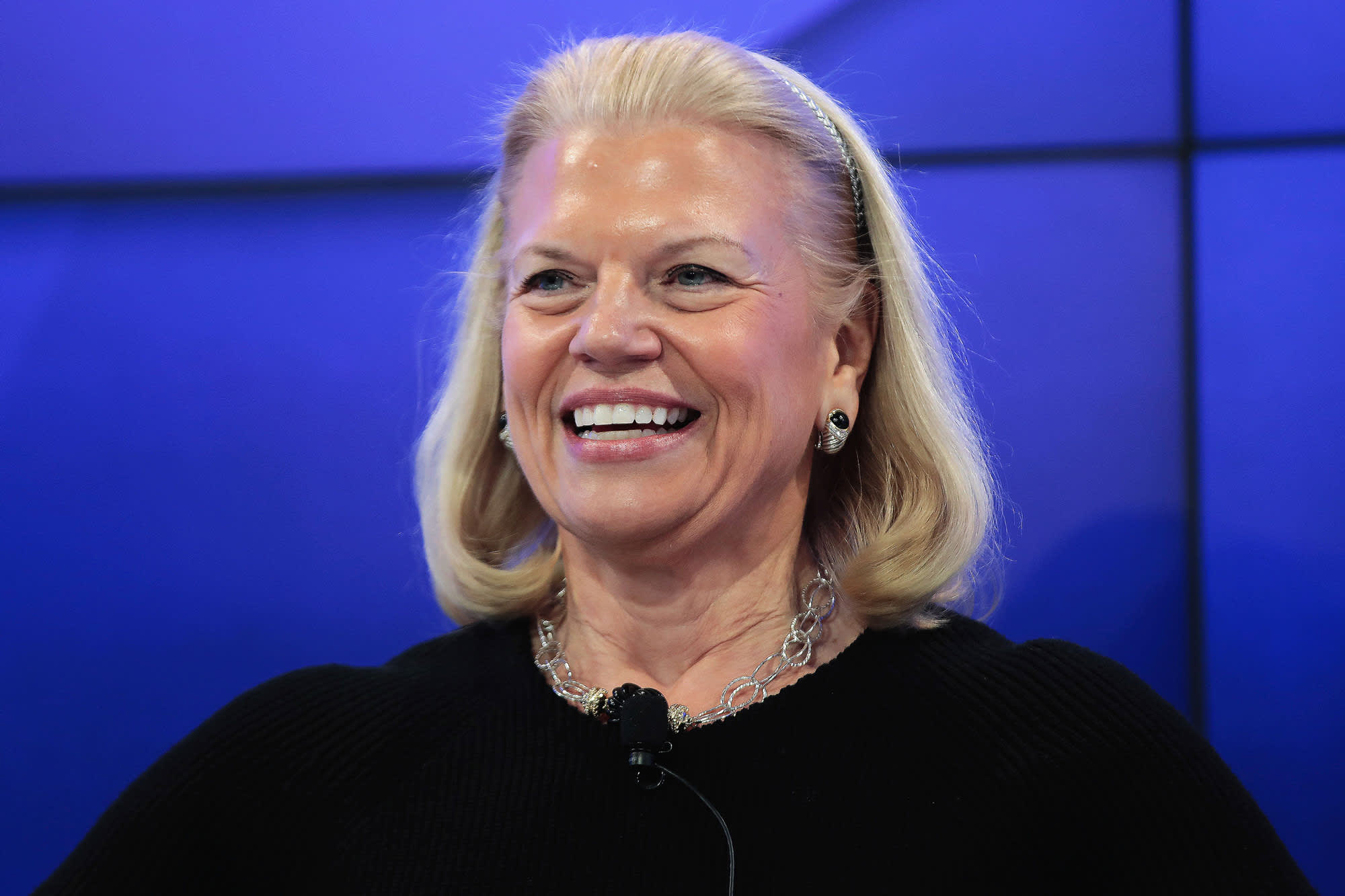 IBM shares jump on earnings beat