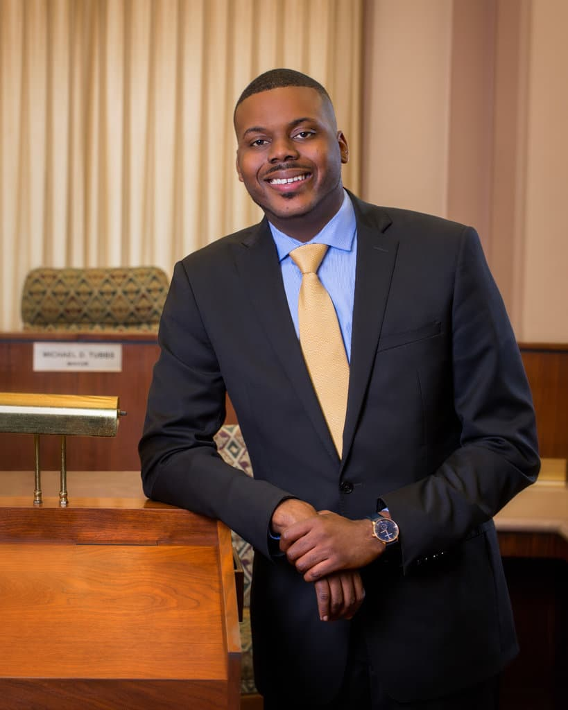 HANDOUT Mayor Michael Tubbs from the Stockton folks