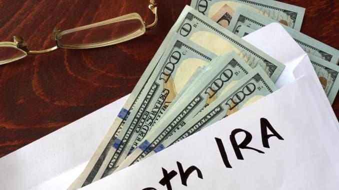Premium: Roth IRA envelope savings individual retirement account 171020