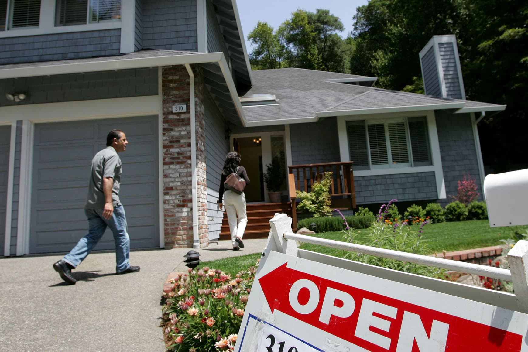 The housing shortage may be turning, warning of a price bubble