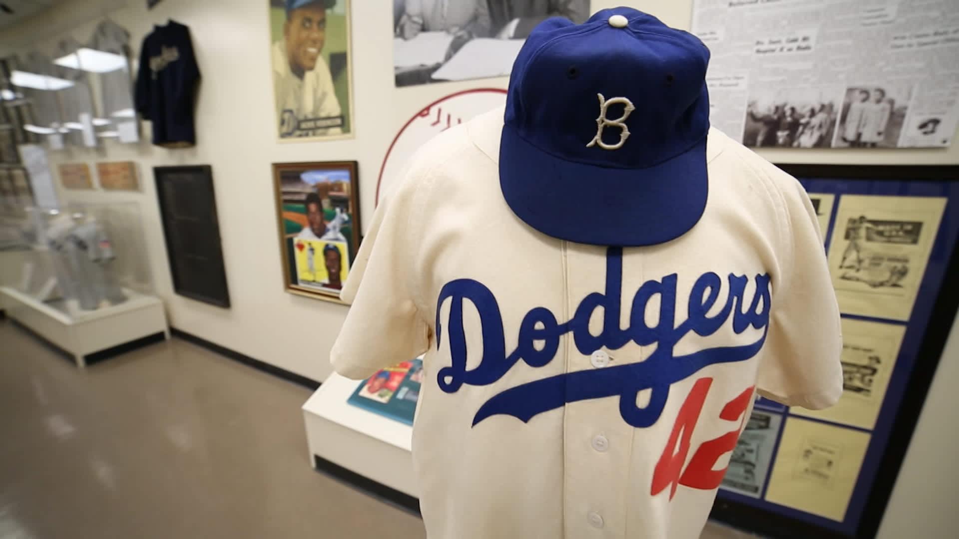 See Dodgers Fans Rare Baseball Memorabilia Collection