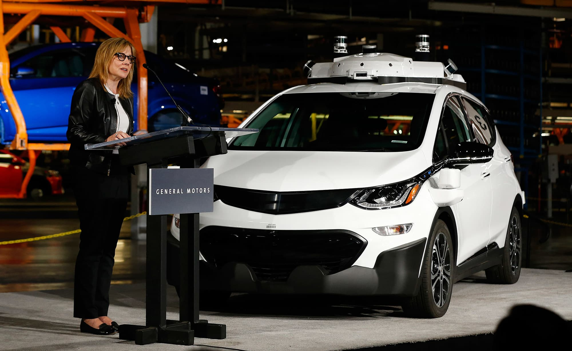 General Motors Cars >> Gm Will Test Fully Autonomous Cars In Quarters Not Years Ceo Barra