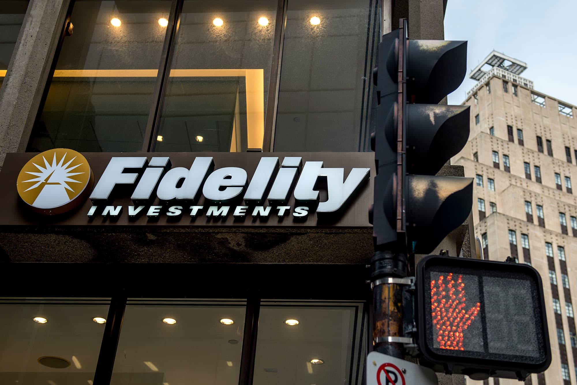 A Fidelity Investments branch.