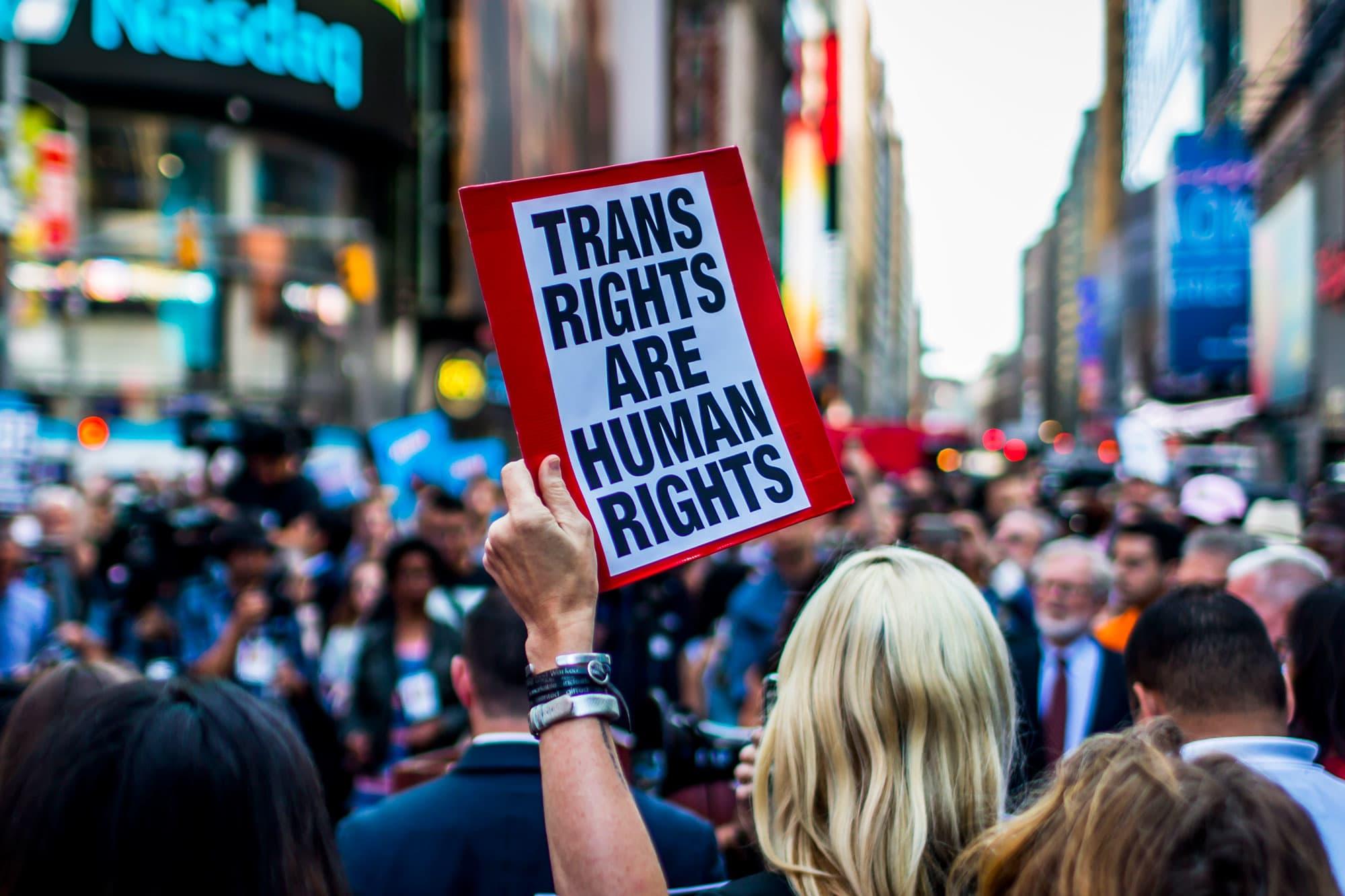 Companies sign letter against Trump's proposed gender definition change
