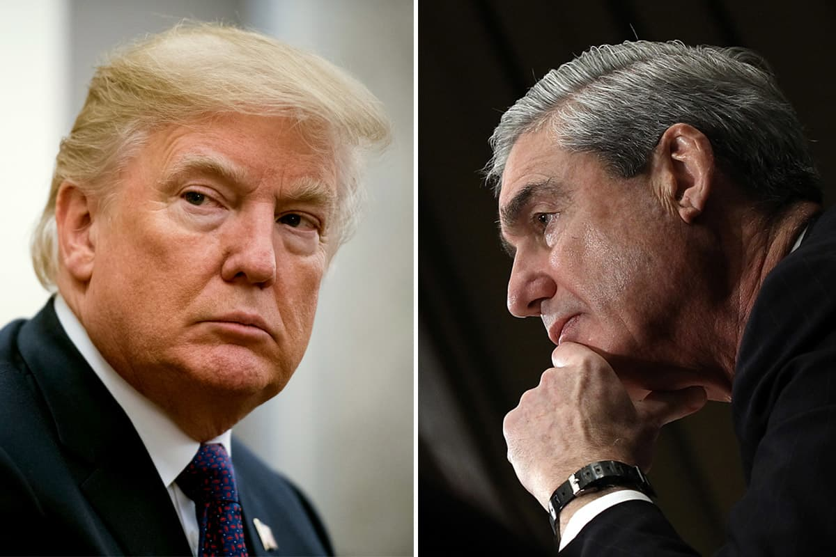 Trump — without evidence — accuses Mueller of 'illegally' deleting FBI text messages