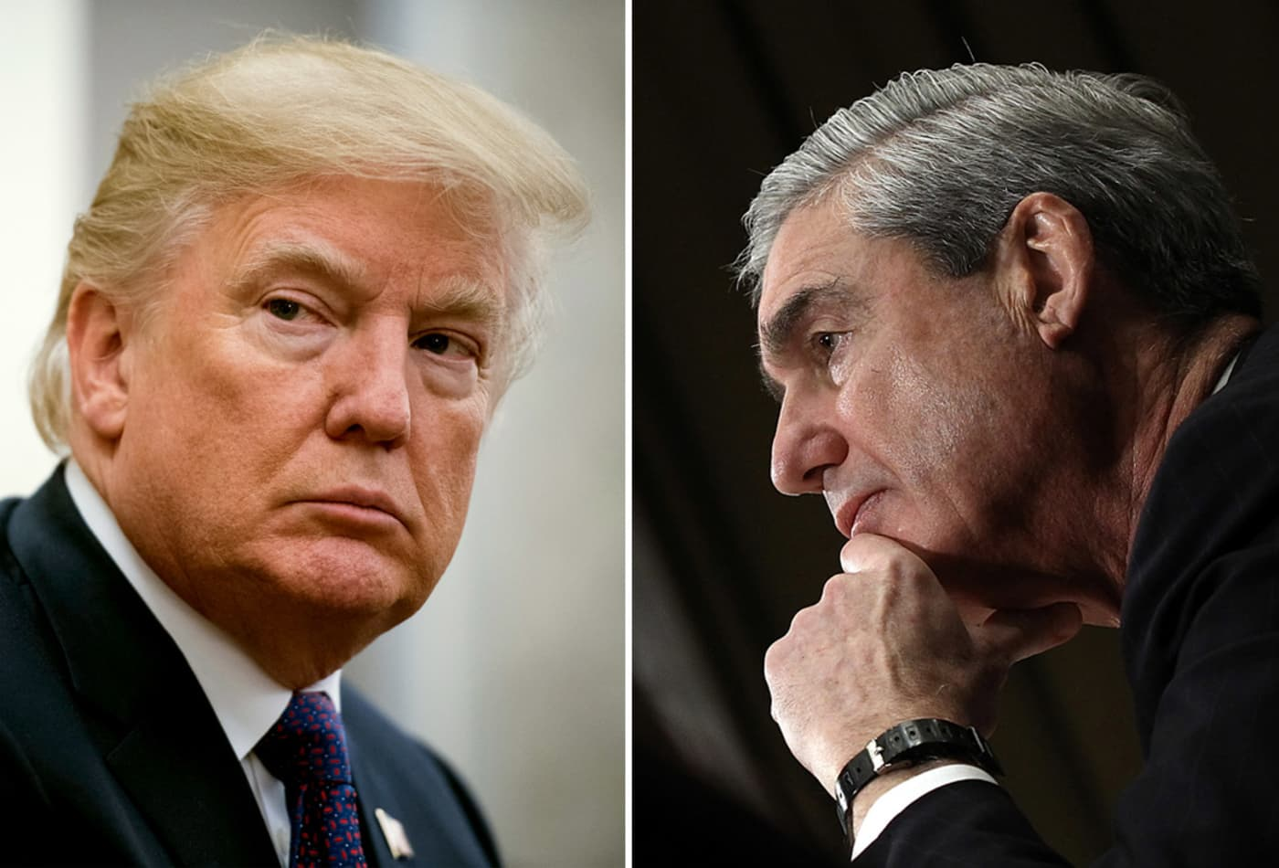 Trump accuses Mueller of a crime