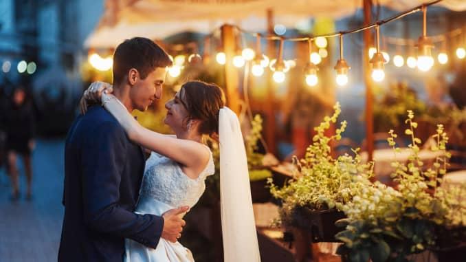Premium: wedding couple