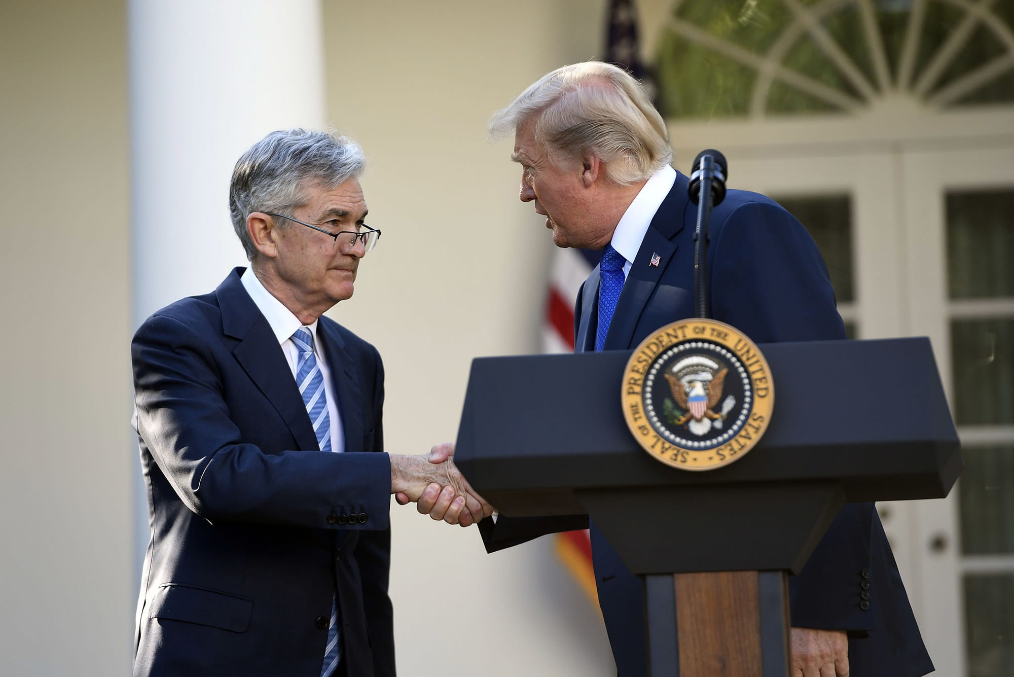 Fed chief Powell has had a series of very short phone calls with Trump this year thumbnail
