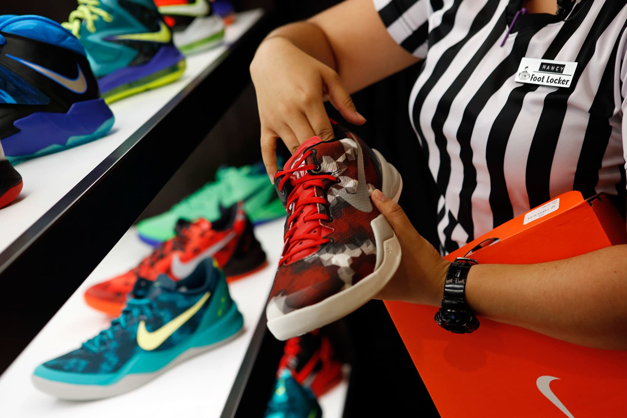The cost of your shoes could jump thanks to the US-China trade war